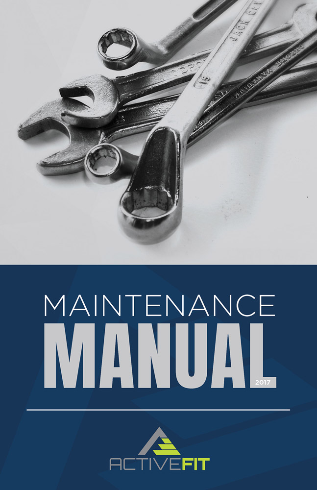ActiveFit Maintenance Manual