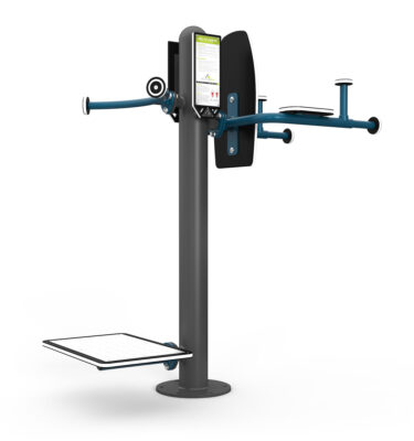 Knee Lift - Stepper Station