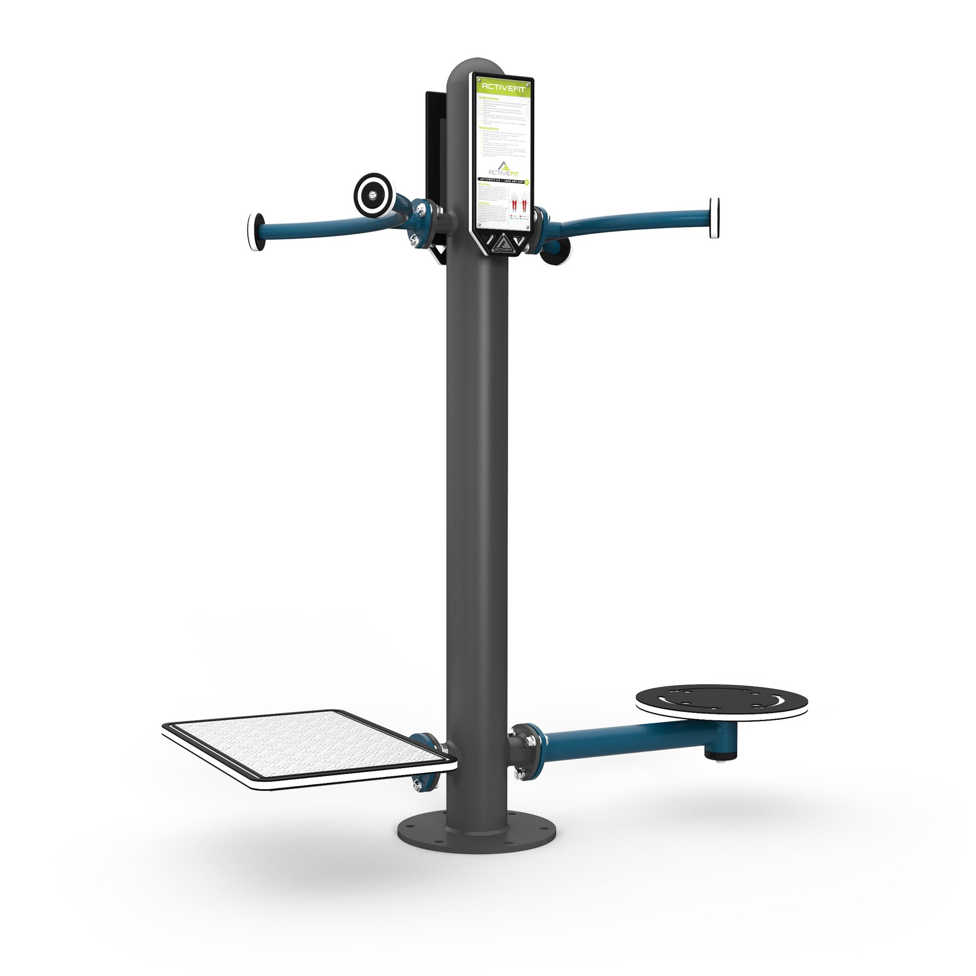 Lower Body - Stepper Station