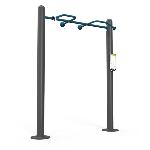 ActiveFit Multi-Grip Pull-up Bars 82in